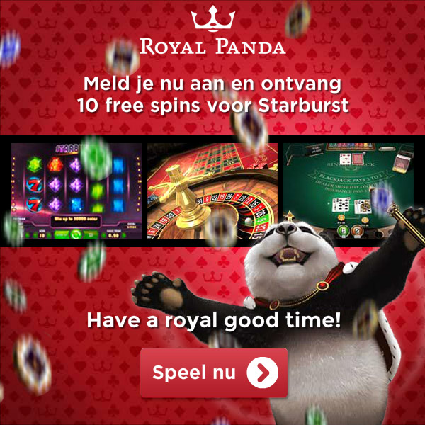 Royal Panda - 10 free spins